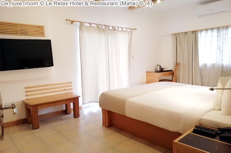 De luxe room Le Relax Hotel Restaurant Mahe
