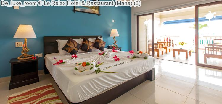 De Luxe Room © Le Relax Hotel & Restaurant (Mahe)