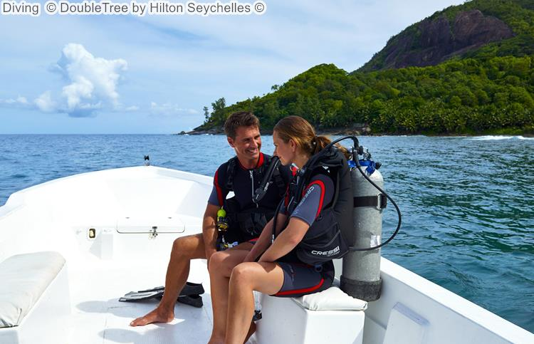 Diving DoubleTree by Hilton Seychelles