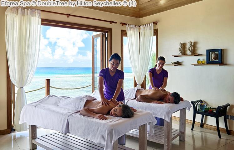 Eforea Spa © DoubleTree By Hilton Seychelles ©