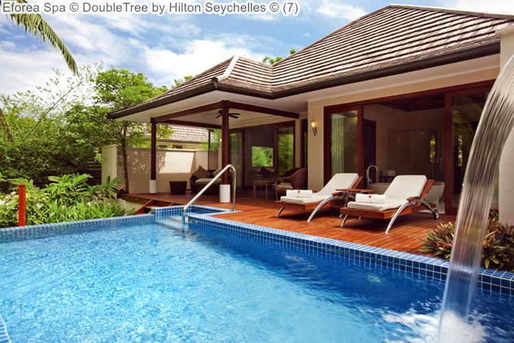 zwembad Eforea Spa DoubleTree by Hilton Seychelles