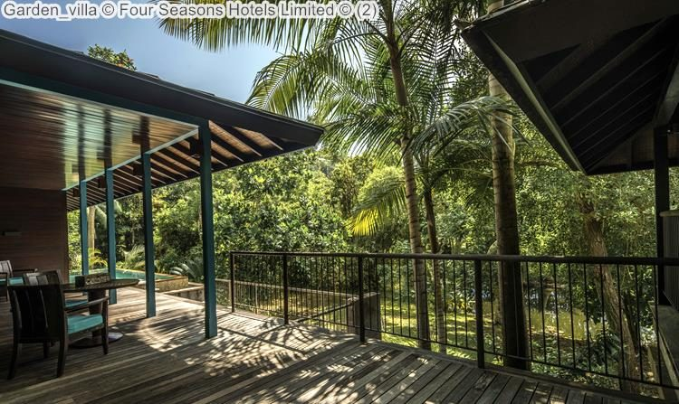 Garden villa Four Seasons Hotels Limited