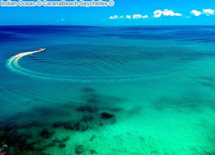 Indian Ocean CaranaBeach Seychelles