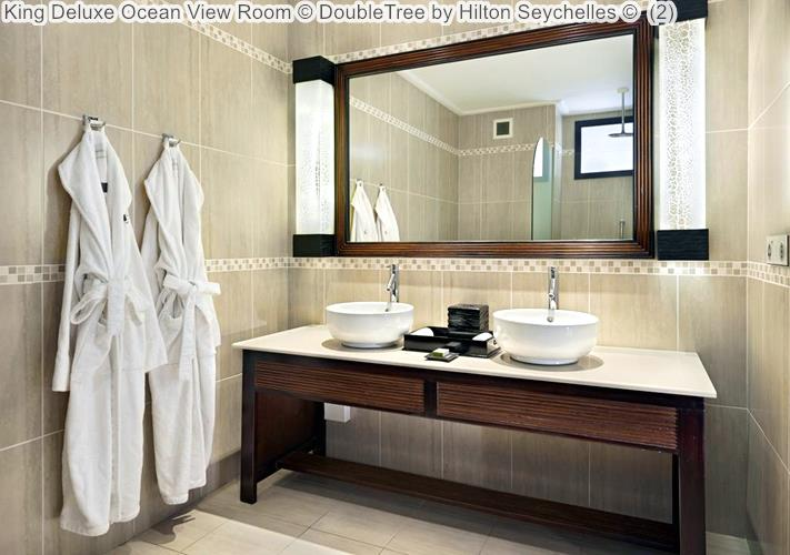 King Deluxe Ocean View Room DoubleTree by Hilton Seychelles