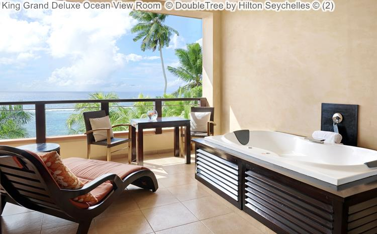 King Grand Deluxe Ocean View Room DoubleTree by Hilton Seychelles