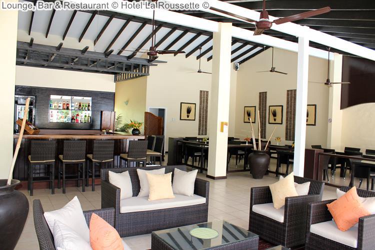 Lounge Bar Restaurant Hotel La Roussette