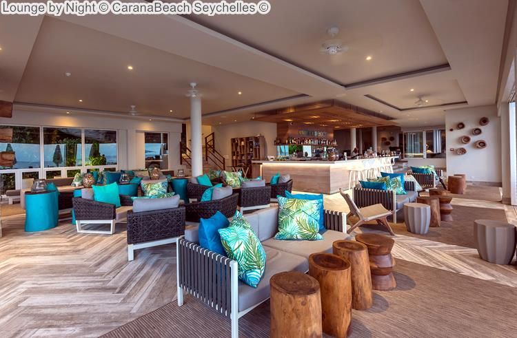 Lounge by Night CaranaBeach Seychelles