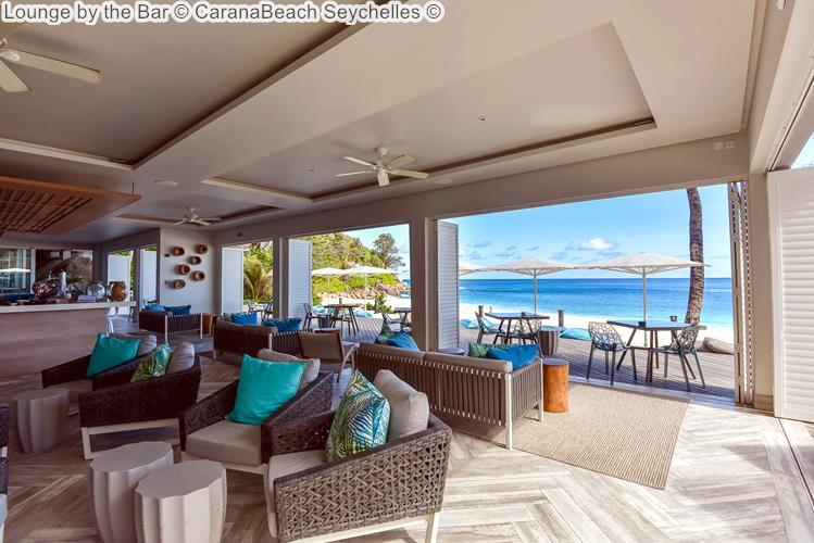Lounge by the Bar CaranaBeach Seychelles