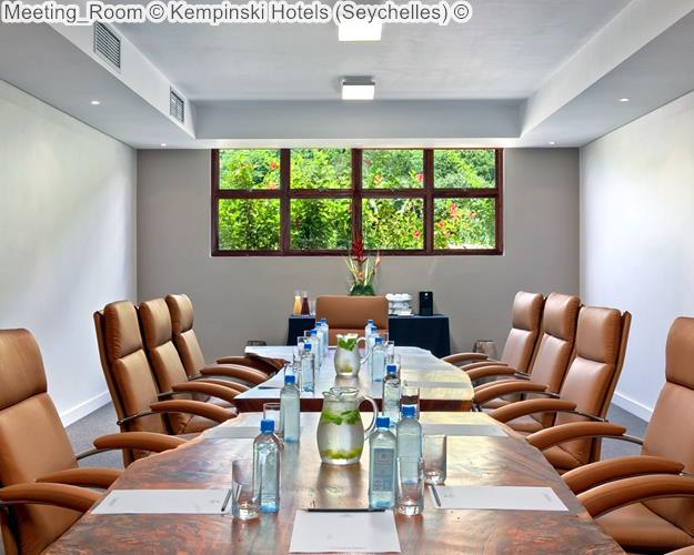 Meeting Room © Kempinski Hotels (Seychelles) ©