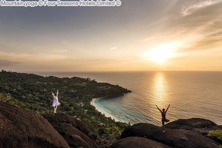 Mountain yoga Four Seasons Hotels Limited