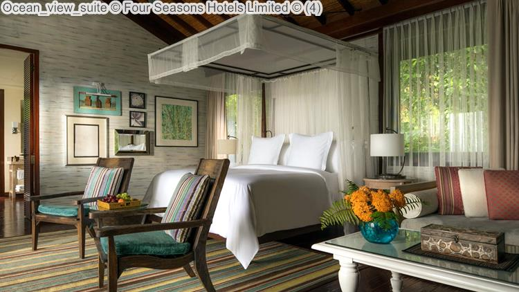 Ocean view suite Four Seasons Hotels Limited
