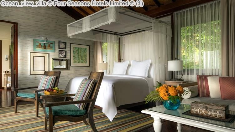 Ocean view villa Four Seasons Hotels Limited