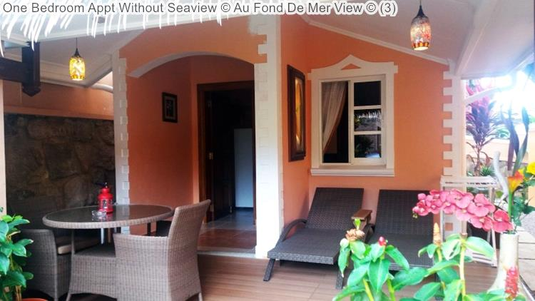 One Bedroom Appt Without Seaview Au Fond De Mer View