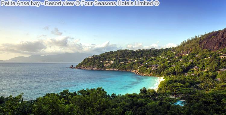Petite Anse bay Resort view Four Seasons Hotels Limited