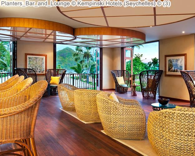Planters Bar And Lounge © Kempinski Hotels (Seychelles) ©