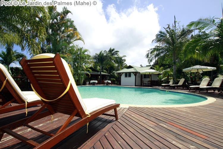 Pool Le Jardin des Palmes Mahe