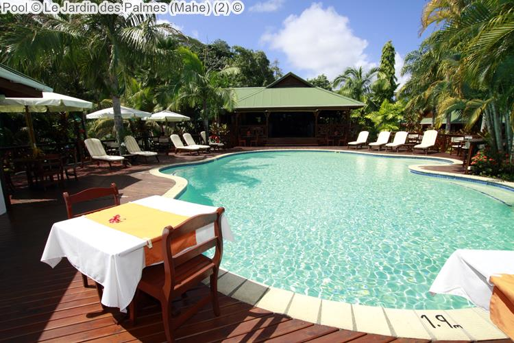 Pool © Le Jardin Des Palmes (Mahe)