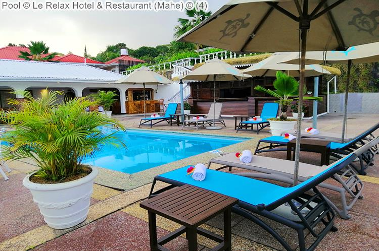 Pool Le Relax Hotel Restaurant Mahe