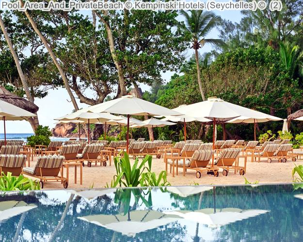 Pool Area And PrivateBeach Kempinski Hotels Seychelles