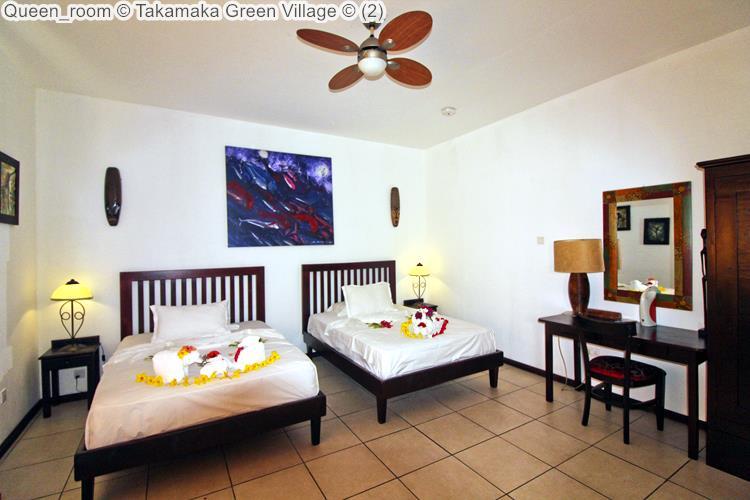 Queen room Takamaka Green Village