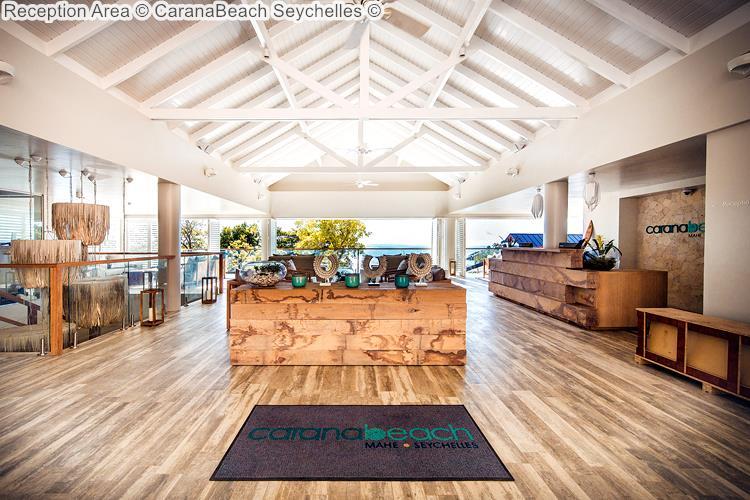 Reception Area CaranaBeach Seychelles