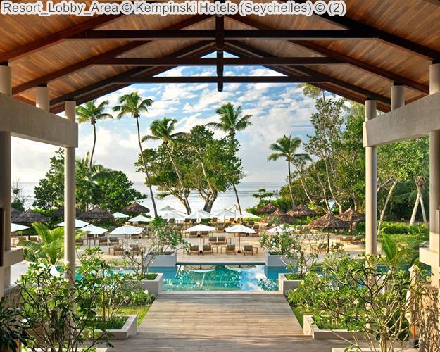 Resort Lobby Area Kempinski Hotels Seychelles