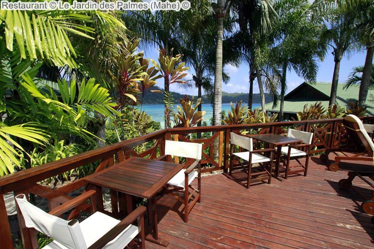 Restaurant Le Jardin des Palmes Mahe