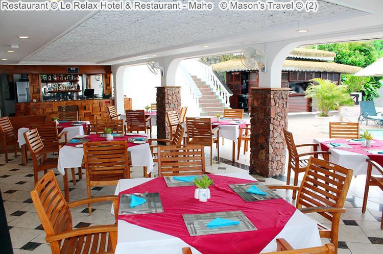 Restaurant Le Relax Hotel Restaurant Mahe