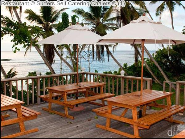 Restaurant © Surfers Self Catering Chalets © (1)