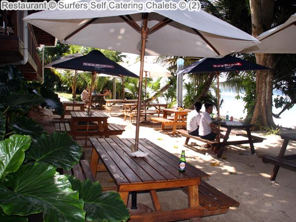 Restaurant Surfers Self Catering Chalets