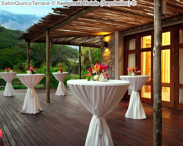 SalonQuincyTerrace Kempinski Hotels Seychelles