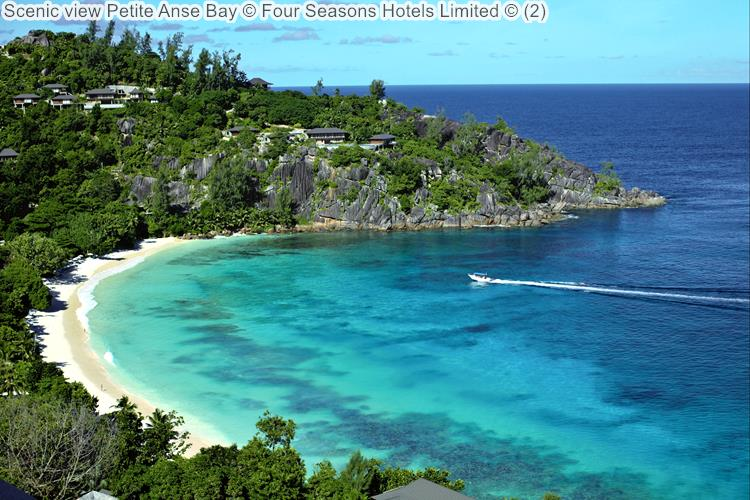 Scenic View Petite Anse Bay © Four Seasons Hotels Limited ©