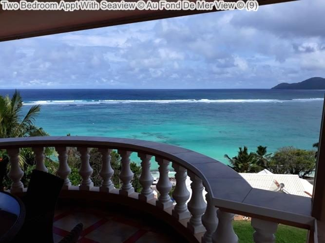 Two Bedroom Appt With Seaview Au Fond De Mer View