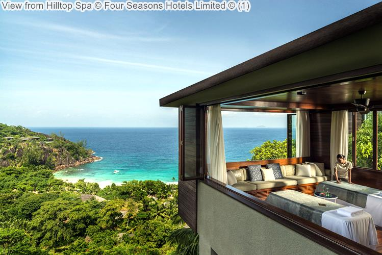 View From Hilltop Spa © Four Seasons Hotels Limited ©
