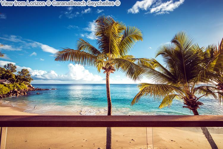 View from Lorizon CaranaBeach Seychelles