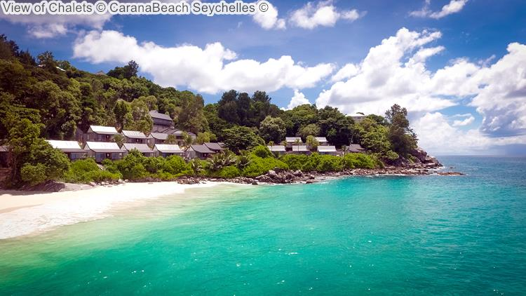 View of Chalets CaranaBeach Seychelles