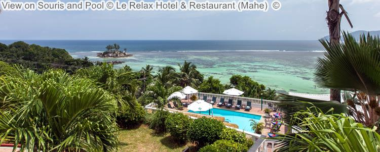 gezicht opSouris And Pool © Le Relax Hotel & Restaurant (Mahe) ©
