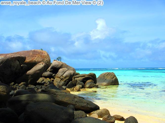 anse royale beach Au Fond De Mer View