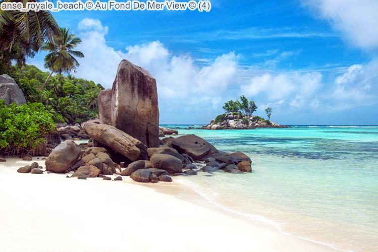 Anse Royale Beach © Au Fond De Mer View ©