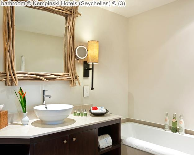 bathroom Kempinski Hotels Seychelles
