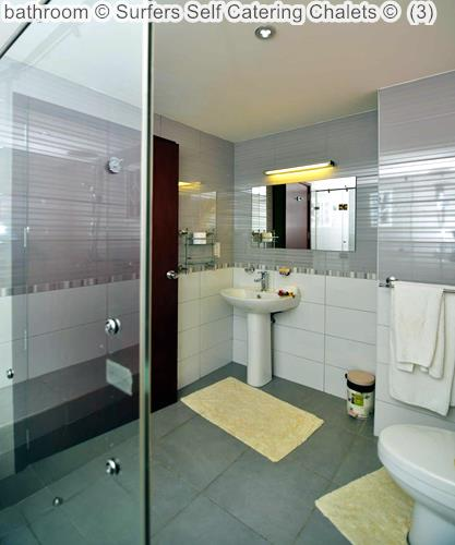 Bathroom © Surfers Self Catering Chalets ©