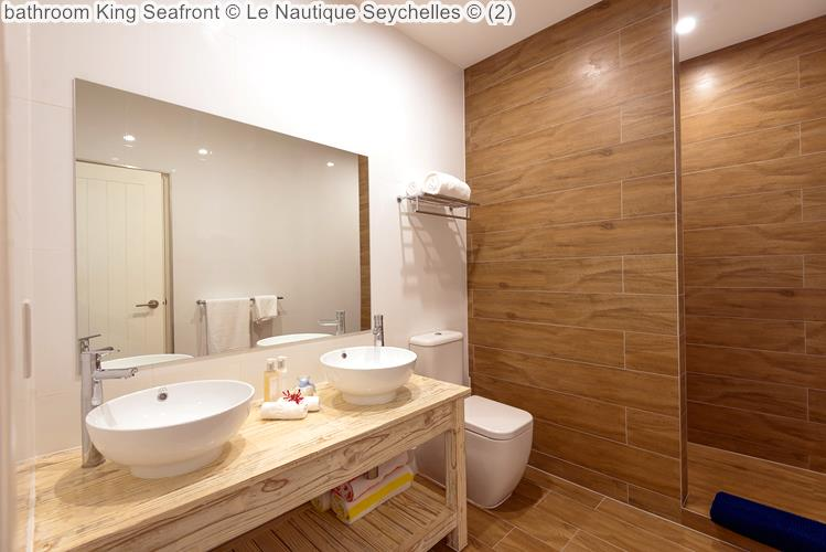 bathroom King Seafront Le Nautique Seychelles