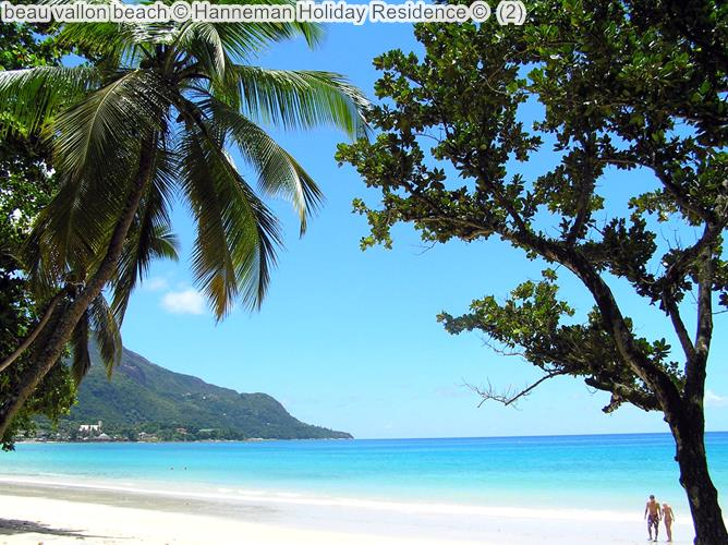 beau vallon beach Hanneman Holiday Residence