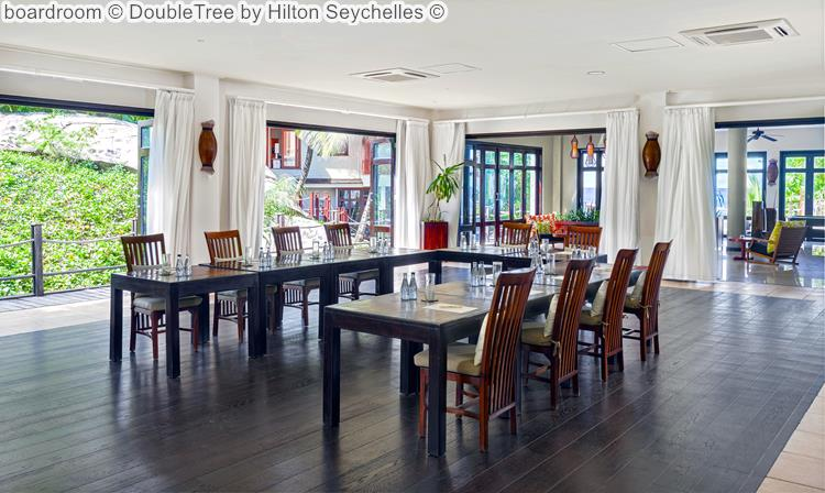 boardroom DoubleTree by Hilton Seychelles