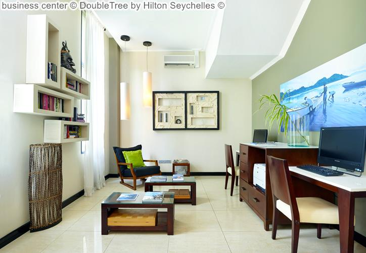 business center DoubleTree by Hilton Seychelles
