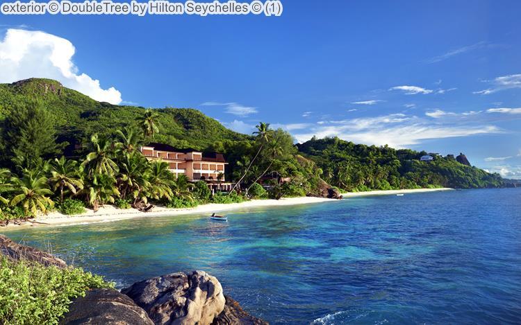 exterior DoubleTree by Hilton Seychelles