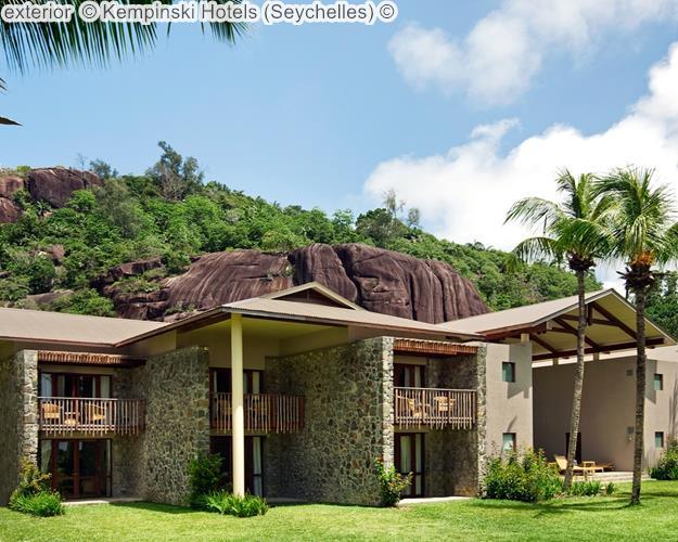 exterior Kempinski Hotels Seychelles