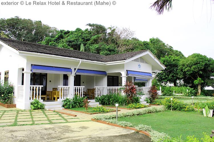 exterior Le Relax Hotel Restaurant Mahe