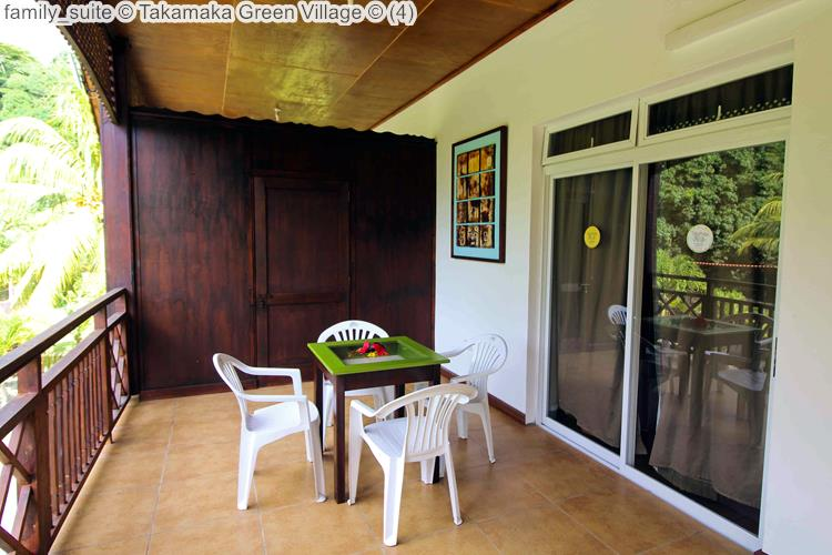 family suite Takamaka Green Village