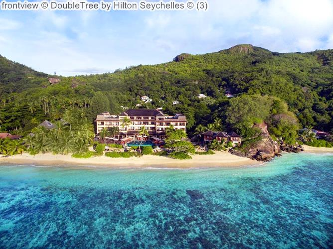Frontview © DoubleTree By Hilton Seychelles ©